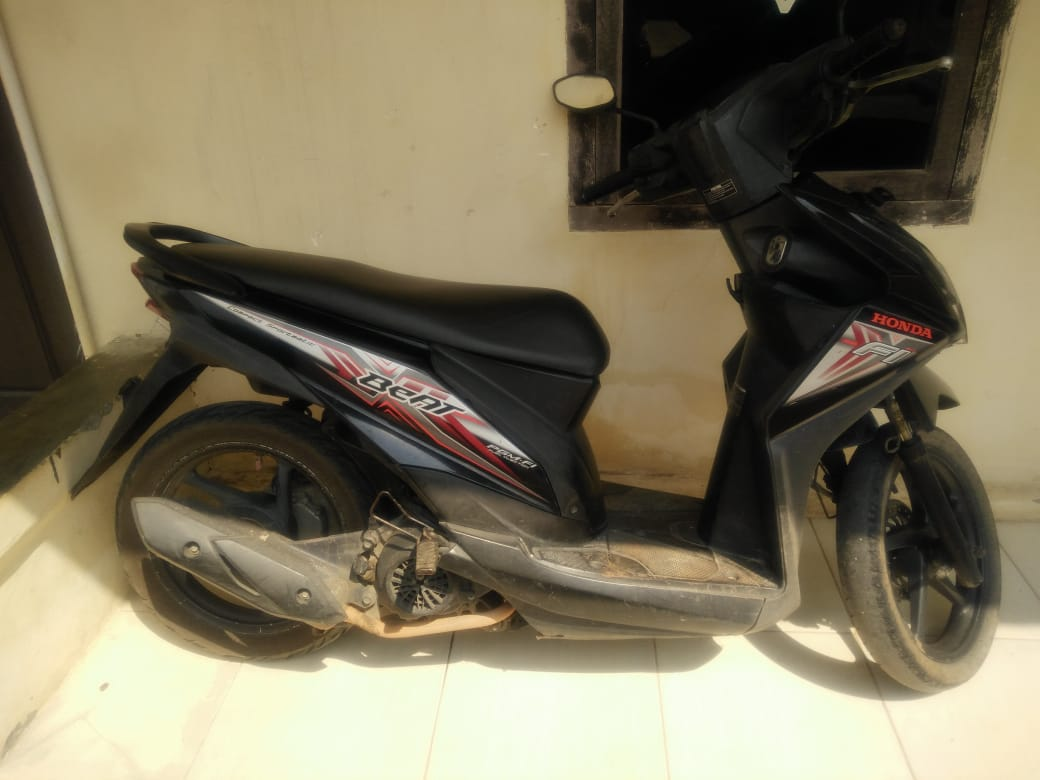 Mengambil Sepeda Motor Dirumah Korban Pelaku Ditangkap Di Kata Bumi Oleh Polsek Gunung Sugih Polres Lampung Tengah.